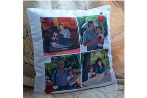 Сувенирная подушка с фото