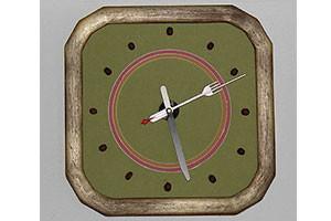 Часы с зернами кофе