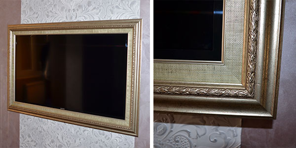 ЖК телевизор в багете