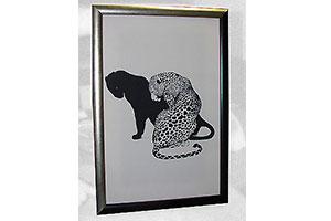 Принт леопарды